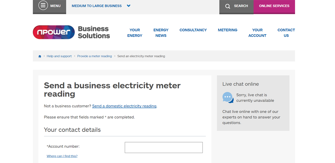 Npower Business Electricity & Gas Prices - Compare On ...